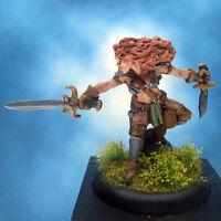 Painted Reaper Miniature Serris Female Fighter Thief