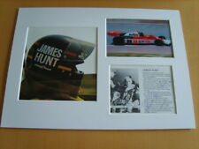 James Hunt Genuine signed authentic autograph - UACC / AFTAL.