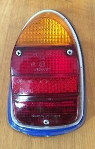 Hella Tail Light Lamp Lens & Blue Housing VW Volkswagen Beetle Bug 111945263 D