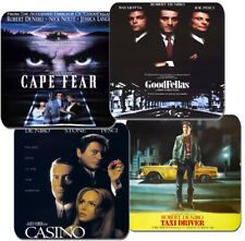 Robert De Niro Movie Poster Coasters Set Of 4. High Quality Cork. Taxi Driver