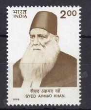 INDIA MNH STAMP 1998 SG 1782 SIR SYED KHAN DEATH CENTENARY