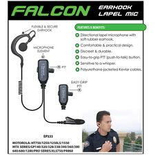 Tactical Ear Gadgets FALCON Headset for Motorola HT MTX MTP PTX (See List)