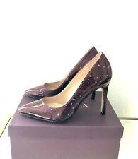 Kurt Geiger Size 4 EU 37 Carvela Red Wine Stiletto Heel Court Shoes RRP £79 New