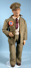 1942 WWII General Douglas MacArthur Figural Doll Painted Composition Freundlich