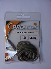 Pro Logic Specialist Accessories Grey silicone tube 0.50mm pack of 2 50 cm