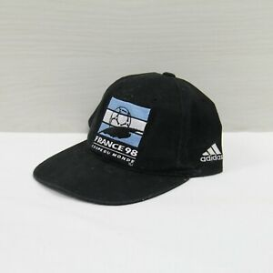 VTG 1998 Team Argentina France World Cup Adidas Snapback Hat Cap OSFA 90s FIFA