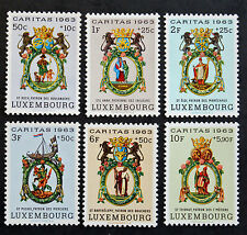 Timbre LUXEMBOURG Stamp - Yvert et Tellier 638 à 643 n** (Cyn19)