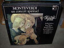 NELSON / MONTEVERDI un concert spirituel vocale ( classical ) box harmonia mundi
