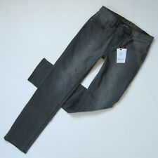 NWT Robert Graham Alanzo in Charcoal Gray Tailored Kipling Stretch Jeans 30 x 31