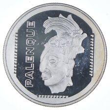 Rare Silver 1 Troy Oz. Viva Mexico Round .999 Fine Silver *519