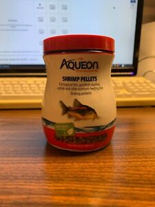 Aqueon Shrimp Pellets for Catfish, Loaches, Tropical Fish, and Bottom Feeders