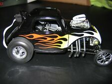 ACME GMP 1:18 Fiat Topolino Altered in Black with Flames. #026/996 Made.NEW!