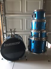 Kids Ludwig Drum Set, Parts Only