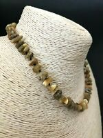 Real Natural Baltic Amber Polished Beads Knotted Ladies Necklace 13,8gr #4854