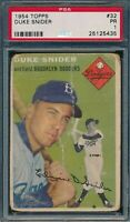 1954 Topps Set Break # 32 Duke Snider PSA 1 *OBGcards*