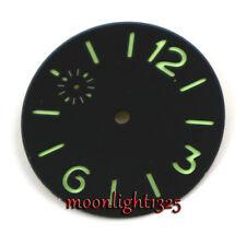 36.2mm sandwich dial fit Unitas ETA 6497 6498 Luminous sterile Dial Watch