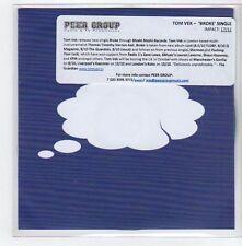 (GE362) Tom Vek, Broke - DJ CD
