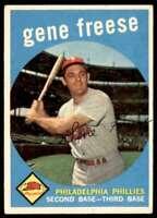 1959 Topps Baseball Gene Freese Philadelphia Phillies #472