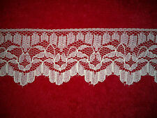 "Vintage White Lace Trim 1 3/4""  Wide 1 Yard 12 inches"