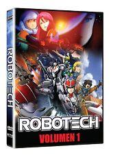 Robotech: La Serie Completa En Español Latino, (DVD New