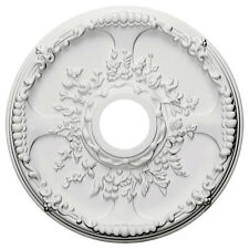 """18""""Od x 3 1/2""""Id x 1 3/8""""P Ceiling Medallion (Fits Canopies up to 4 1/2"""") Cm6041"""