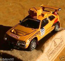 CITROEN ZX RALLYE RAID PARIS DAKAR 1991 VATANEN 1/43 NOREV M6 INTERACTIONS