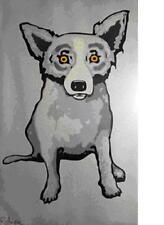 "Blue Dog George Rodrigue    ""Hi Yo Silver""    MAKE  OFFER    DSS"