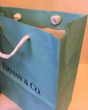 "Tiffany & Co. Blue Shopping Gift Bag - Large 14"" W x 11""H"