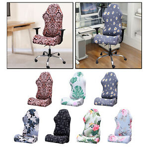 Stretchable Gaming Chair Covers Slipcovers Office Computer Game Chair Slipcovers