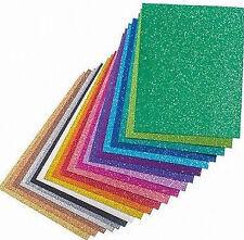 Efco Glitzerkarton Glitzerpapier Glitterkarton, DIN A4, 200 g/m²  Farbwahl