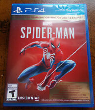 Spiderman Spider-Man (Sony PlayStation, PS4 2019, Game of the Year Edition) CIB