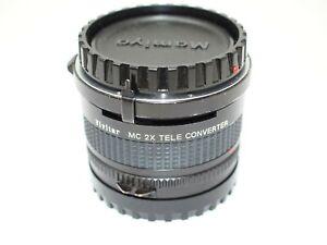 Vivitar MC 2x Teleconverter for Mamiya 645