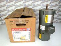 BALDOR NEW - VBM3538 Electric Motor 3 PH, 0.5 HP, 208-230/460V 1725rpm 60hz 56C