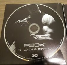 P90X  extreme home fitness 10 back and biceps Replacement Disc Only