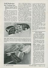 1945 Aviation Article Globe Swift Personal Plane Construction Tooling Airplane