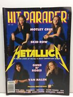 HIT PARADER Dec 1991 METALLICA Metal's Most Important Band- POISON Centerfold
