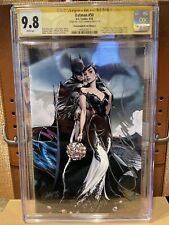 "Batman #50 - CGC SS 9.8 (W) - J. Scott Campbell Edition F SDCC Virgin ""Wedding"""