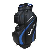 TaylorMade Deluxe Cart Bag - Black / Blue