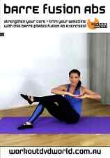Pilates Barre Toning EXERCISE DVD - Barlates Body Blitz BARRE FUSION ABS!