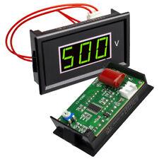 12pcs Voltmeter Ac 60v 500v Led Panel Meter Compatible With 85l17 Pointer Table
