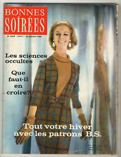 ►BONNE SOIREE 2228/1964 - EDITH PIAF - SALVADOR DALI - LOUIS JOURDAN - DELON