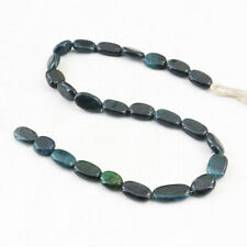 114.00 Cts / 12 Inches Earth Mined Bloodstone Oval Shape Drilled Beads Strand