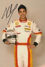 Adam Khan Hand Signed 12x8 Photo - Formula 1 Autograph Renault - F1 2.