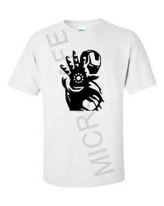 "Mens Novelty Gift Unique Iron man Superhero Marvel T-Shirt ""Iron man""  S - XL"