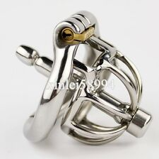 "New Ring Design Small Male Male Chastity Devices 1.65"" Stainless Steel Bird Cage"