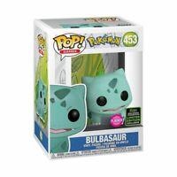 Pokemon - Bulbasaur Flocked ECCC 2020 Exclusive Pop! Vinyl [RS]-FUN45920-Funko