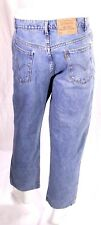 BJ8-68 Levis 550 Herren Jeans blau W32 L28 relaxed fit tapered leg Zip Fly