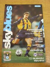15/11/1998 Coventry City v Everton  . Thanks for viewing this item, buy with con