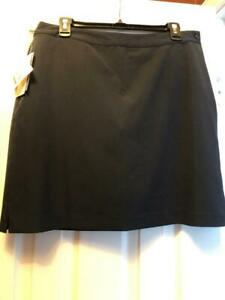 NWT Ladies EP PRO NAVY BLUE Golf Skort Skirt - sizes 4 & 12 - BASICS $79
