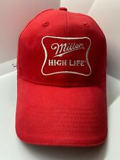 MILLER HIGH LIFE HAT CAP Embroided Adjustable Snapback Classic Cotton